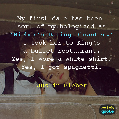 Justin Bieber Quote (About love girls girlfriend dating buffet)