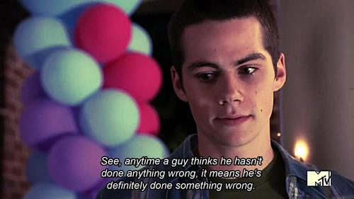 Teen Wolf  Quote (About wrong man lie liar guy)