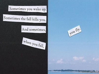 Neil Gaiman  Quote (About wake up inspirational fly fall)