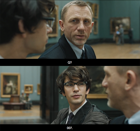 Skyfall (2012) Quote (About Q movie trailer 007)