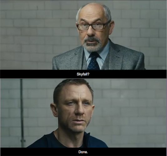 Skyfall (2012) Quote (About skyfall Psychologist done)