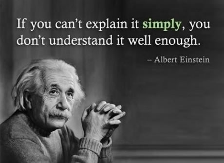 Albert Einstein  Quote (About understand learning explain)