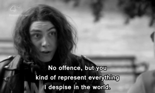 Skins Quote (About truth hate dislike despise)