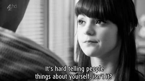 Skins Quote (About yourself hard gifs)