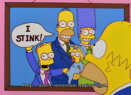 The Simpsons  Quote (About remember family photo)