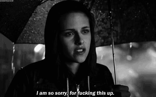 Adventureland (2009)  Quote (About sorry fucking fuck apologize)