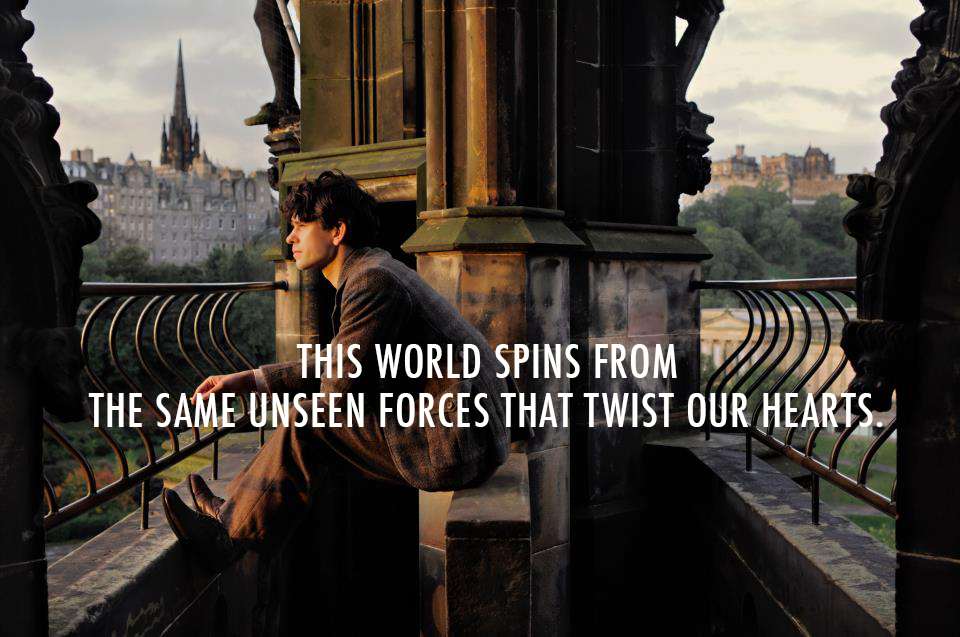 Cloud Atlas (2012)  Quote (About world unseen forces heart)