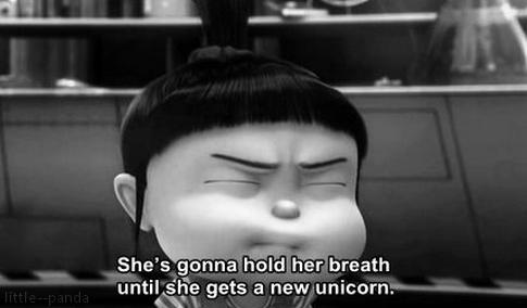Despicable Me (2010)  Quote (About unicorn breath)