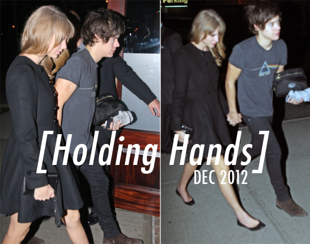 Taylor Swift,Harry Styles  Quote (About rumours love holding hands dating)