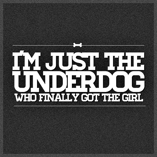 One Direction Truely Madly Deeply Quote (About underdog typography love girl date black and white)