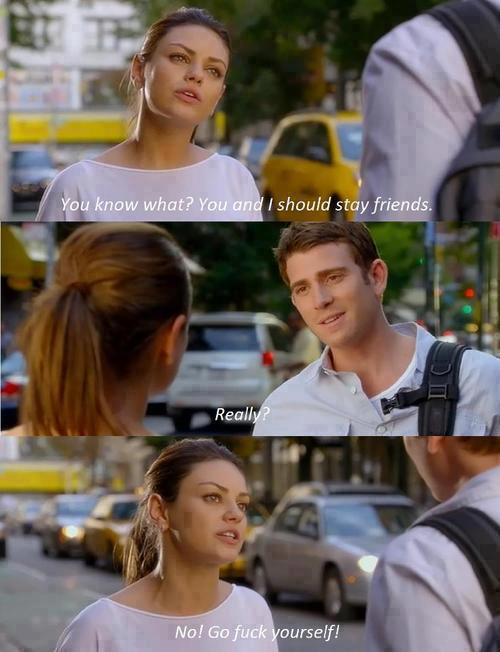 Friends with Benefits (2011)  Quote (About love fwb fuck friends breakup break up)