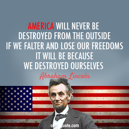 abraham lincoln quotes Photo