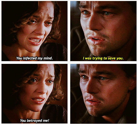 Inception (2010) Quote (About mind infection betray)