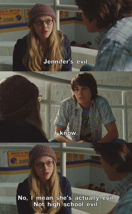 Jennifers Body (2009) Quote (About high school evil)