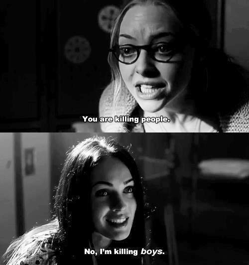 Jennifers Body (2009) Quote (About men killing boys black and white)