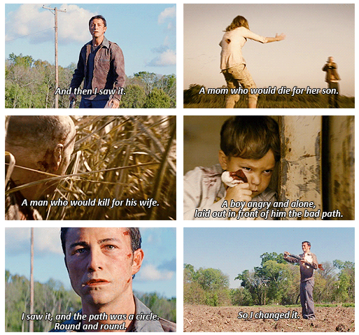 Looper (2012) Quote (About time travel)