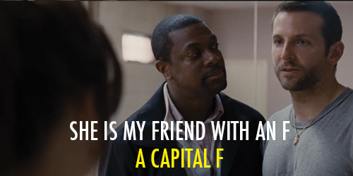 Silver Linings Playbook (2012) Quote (About love friend capital F)