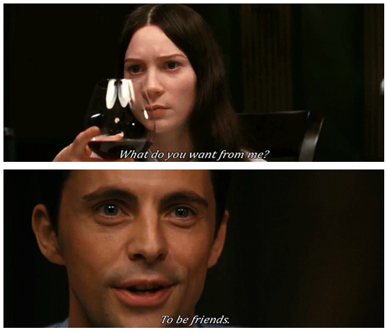 Stoker (2013)  Quote (About meal scene friends)