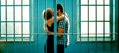 The Bounty Hunter (2010) Quote (About kissing jail)