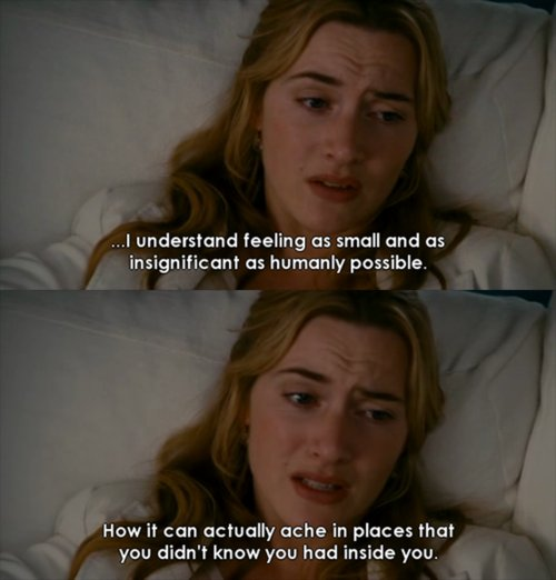 The Holiday (2006) Quote (About human feeling)