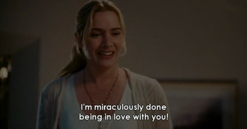 The Holiday (2006) Quote (About breakups break ups)