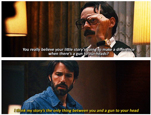 Argo (2012) Quote (About story gun)