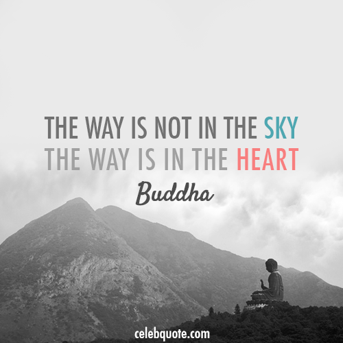 Buddha Quote (About sky heart)