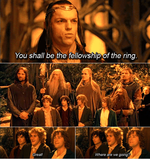 The Lord of the Rings: The Fellowship of the Ring (2001) Quote (About fellowship)