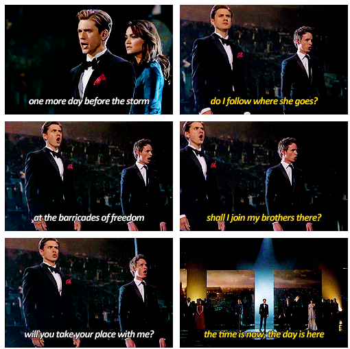 Oscars 2013 (85th Academy Awards) Quote (About singing live performance Les Misérables)