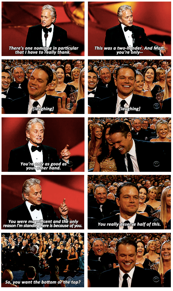Emmy Awards 2013 Quote (About thank you speech)