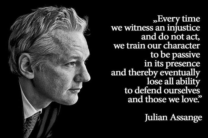 Julian Assange Quote (About lemons lemonade)