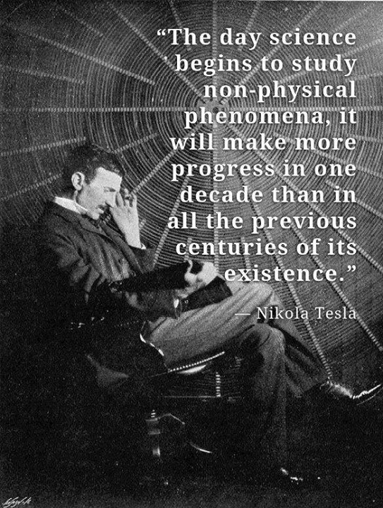 Nikola Tesla Quote (About science phenomena)