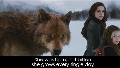 The Twilight Saga Breaking Dawn   Part 2 (2012)  Quote (About grow child born bitten)
