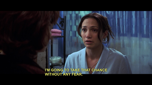 Maid in Manhattan (2002)  Quote (About gut gifs fear dream chance)
