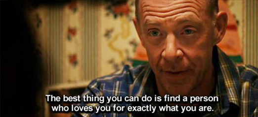 Juno (2007) Quote (About relationship perfect lover partner love advice)