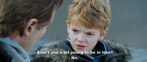 Love Actually (2003)  Quote (About young love gifs)