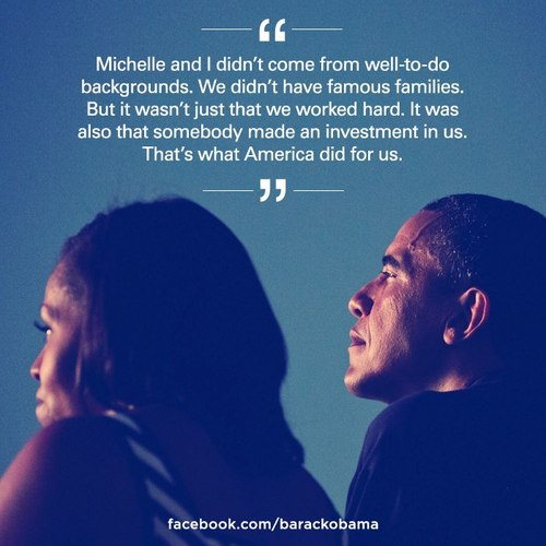 Barack Obama Quote (About United States Michelle Obama famous America)