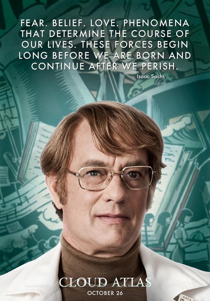 Cloud Atlas (2012)  Quote (About love life forces fear born belief)