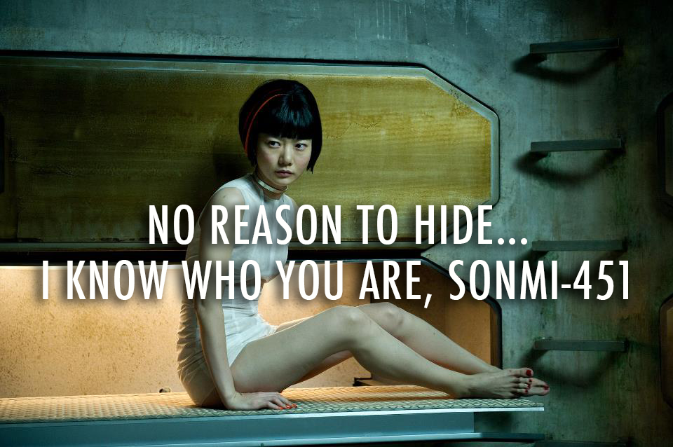 Cloud Atlas (2012)  Quote (About who you are sonmi love hide)