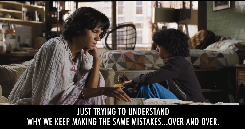 Cloud Atlas (2012)  Quote (About over and over old letters mistakes letters)