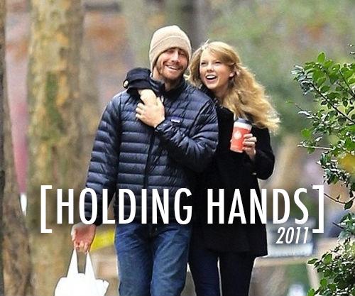 Taylor Swift,Jake Gyllenhaal  Quote (About relationship rebound love holding hands girlfriend gf dating coffee boyfriend bf)