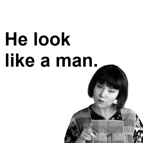Madtv  Quote (About look like a man lol funny black and white)