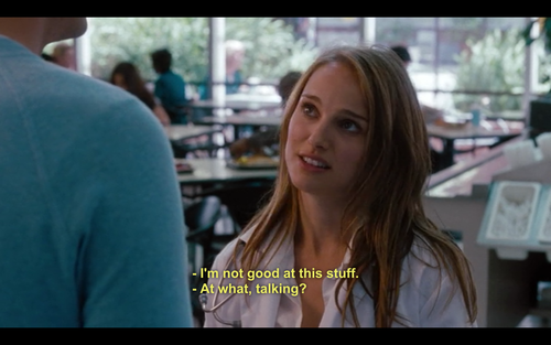 No Strings Attached (2011)  Quote (About talking good)