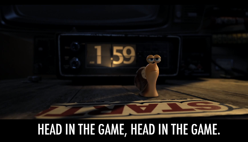 Turbo (2013)  Quote (About snail slow race game fastest snail competition)