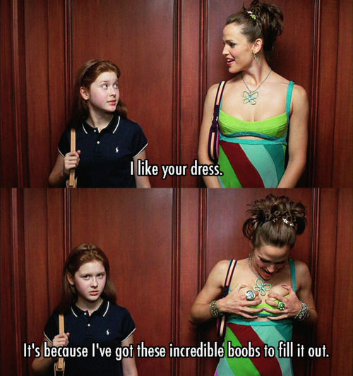 13 Going on 30 (2004) Quote (About life dress clothes boobs)