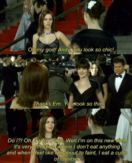 The Devil Wears Prada (2006) Quote (About thin on diet cheese)