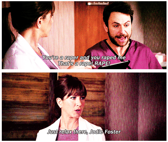 Horrible Bosses (2011) Quote (About rapist raped mean boss Jodie Foster hate my boss)