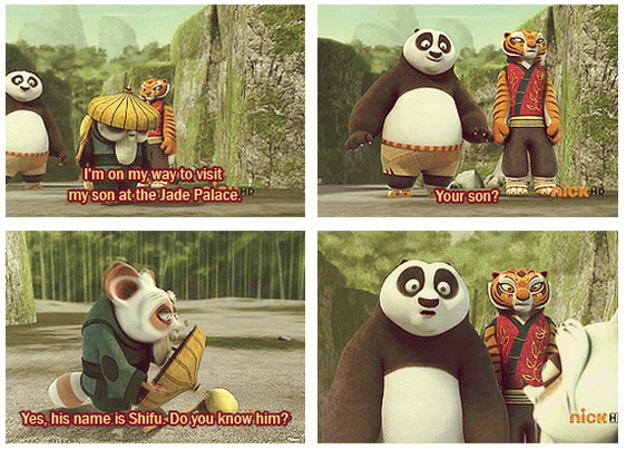 Kung Fu Panda (2008) Quote (About son Jade Palace)