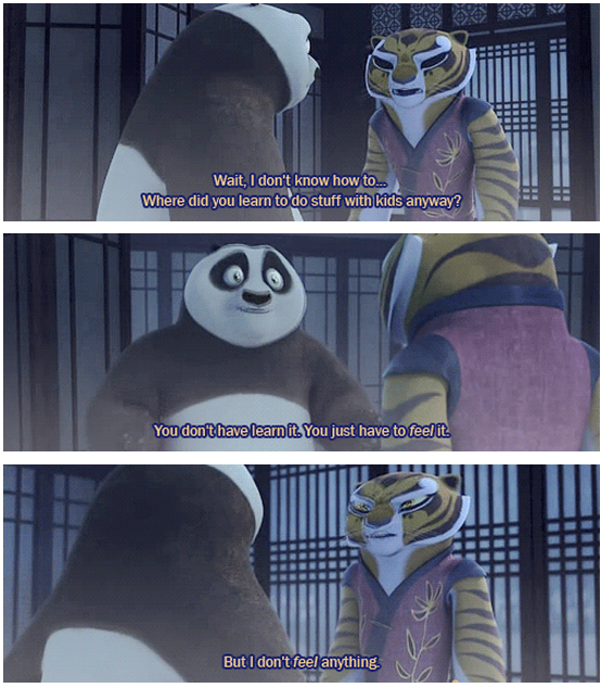 Kung Fu Panda (2008) Quote (About kids children)