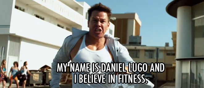 Pain & Gain (2013) Quote (About hot body gym fitness body building)
